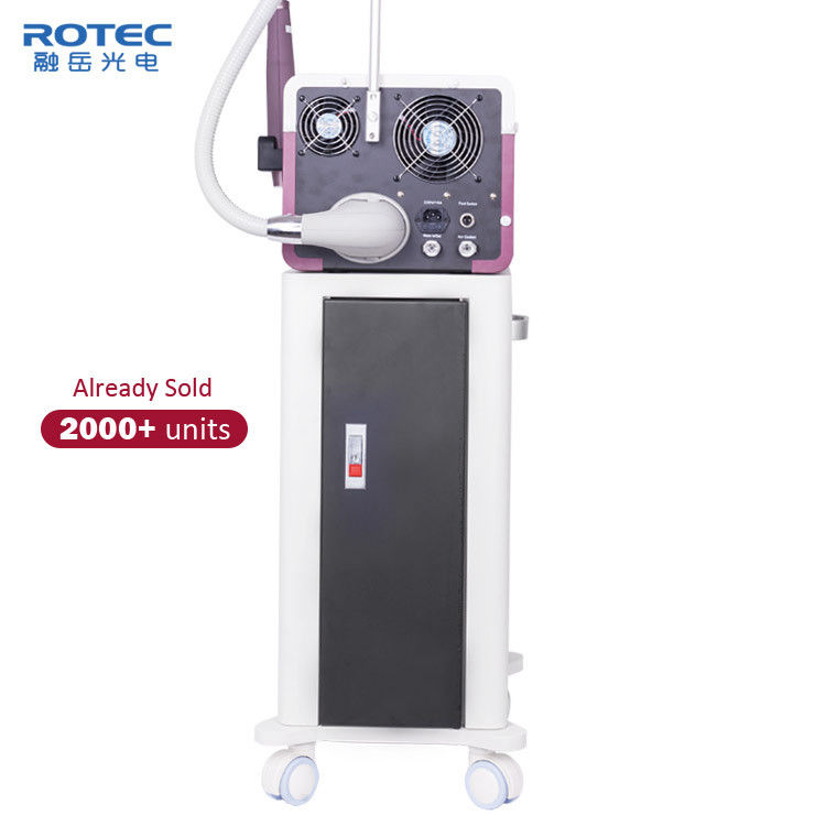 Skin Care Q Switched ND YAG Laser Machine Acne Treatment For Commercial 1064nm 532nm