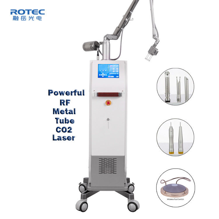 CO2 Fractional Laser Machine Marks Removal 110cm Working Radius Skin Renew