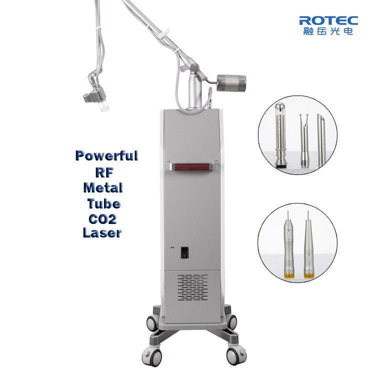 Acne Scars CO2 Fractional Laser Machine Skin Resurfacing RF Tube Korean 7 Articulated Arm